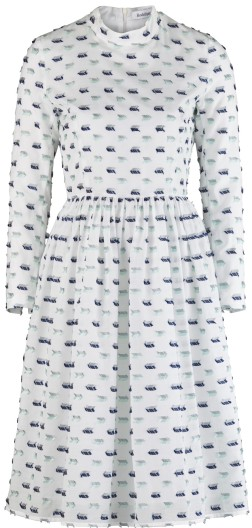 'Palasan' Dress i White Rodebjer fram