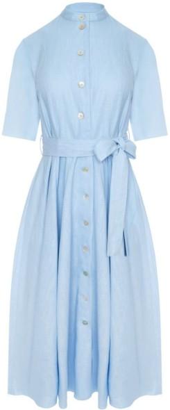 'Ravenna' Klänning i Ljusblå Camilla Thulin