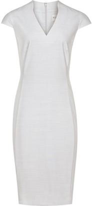 Reiss Dress Blue Salt single fram