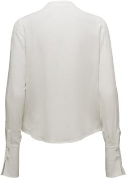 'Silva' Silk Blouse i Off White Rodebjer bak