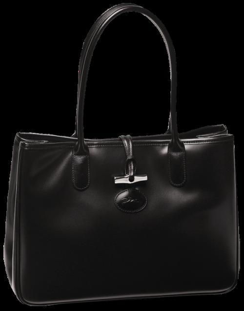 Svart handväska Longchamp