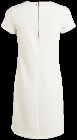 Vit klänning Lindex bak