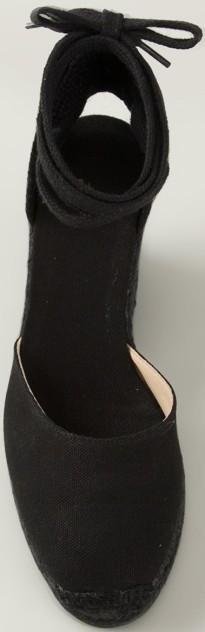 Wedge Sandals i Black Castaner ovan