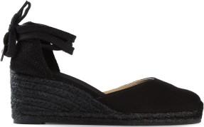 Wedge Sandals i Black Castaner sida