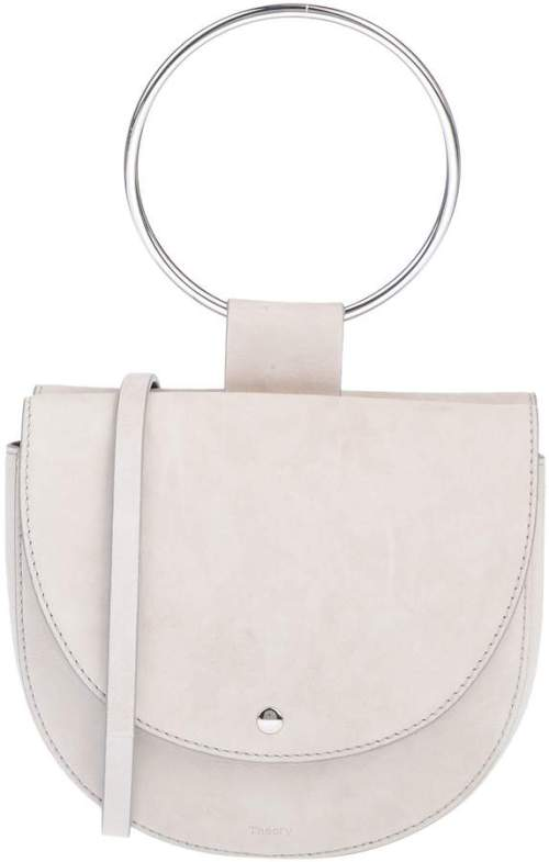 'Whitney' Leather Shoulder Bag Theory