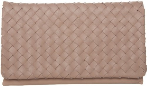 Woven Clutch i Pink Abro