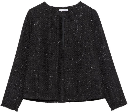 Coco Boucle Blazer Black Marville Road
