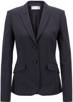 'Julea' Blazer i Dark Blue Hugo Boss fram