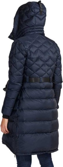 Mountain Works W s Foxy Lace Down Coat Navy bak