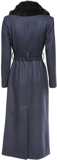 'Jules' Coat i Navy Ida Sjöstedt bak