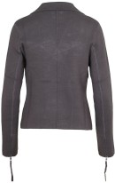 'Kiko' Knitted Jacket i Black Ahlvar bak