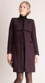 Marina Maternity Coat fram
