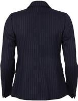 Pinstriped Wool Blazer i Navy GANT bak