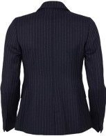 Pinstriped Wool Blazer i Navy GANT bak