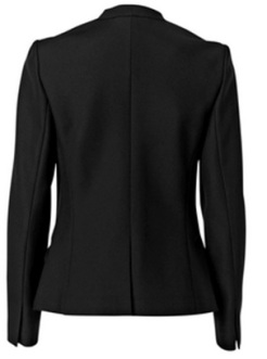 'Foca' Structured Blazer i Black By Malene Birger bak