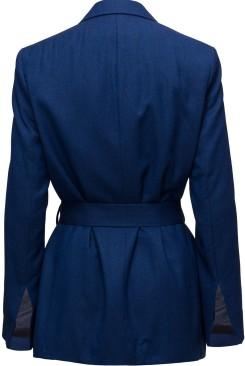 'Zoe' Blazer i Workwear Blue Rodebjer bak