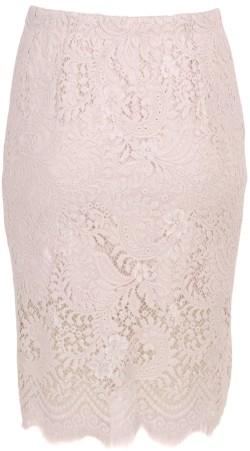 'Lalita' Lace Skirt i Crystal Grey Baum und Pferdgarten bak