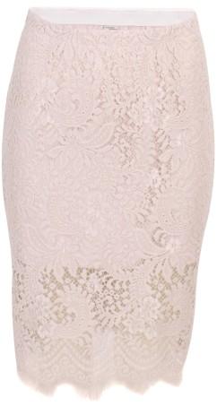 'Lalita' Lace Skirt i Crystal Grey Baum und Pferdgarten fram