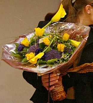 31 januari 2003 Kronprinsessan Victorias bukett