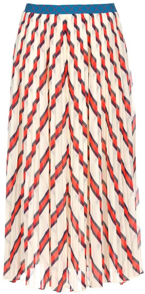'Alvilamma' Skirt i Cream By Malene Birger