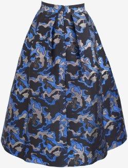 'Sashenka' Skirt i Blue Army Baum und Pferdgarten bak
