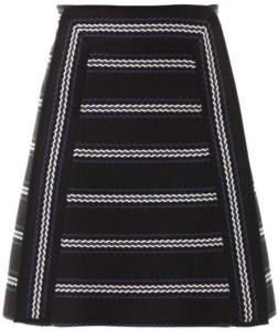 textured-striped-a-line-skirt-i-black-chloe