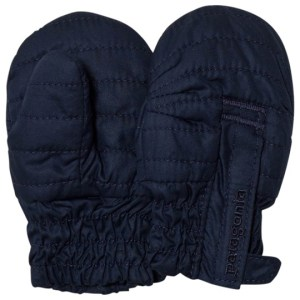 Baby Puff Mittens i Navy Blue Patagonia