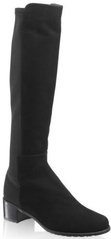 HalfnhalfStretch Knee-High Boot i Black Russell & Bromley fram