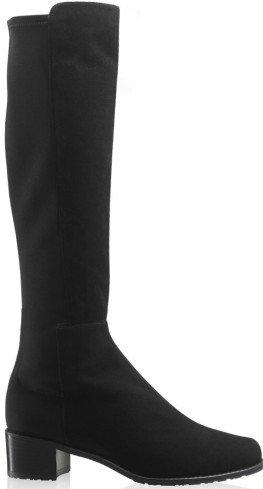 HalfnhalfStretch Knee-High Boot i Black Russell & Bromley