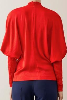 'Idaia' Blus i Röd Stylein bak