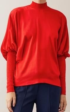 'Idaia' Blus i Röd Stylein fram