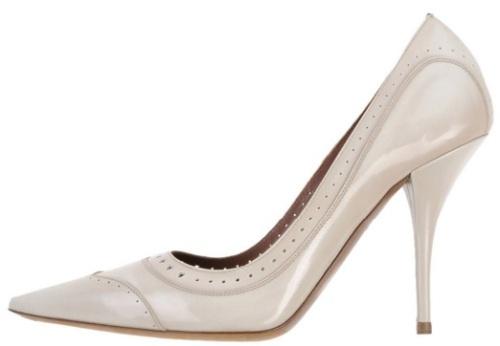 Tabitha Simmons Shoes beige sida