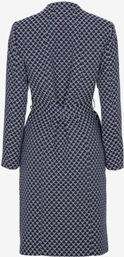 'Bianca' Kappa i Marinblå mönstrad Stylein bak