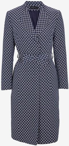 'Bianca' Kappa i Marinblå mönstrad Stylein fram