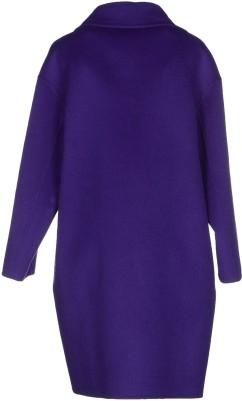 Coat i Dark Purple Prada bak