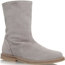 'Kiruna' Sheepskin Boots i Grey Bonpoint