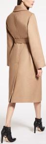 'Manuela' Camelhair Coat i Camel Max Mara bak