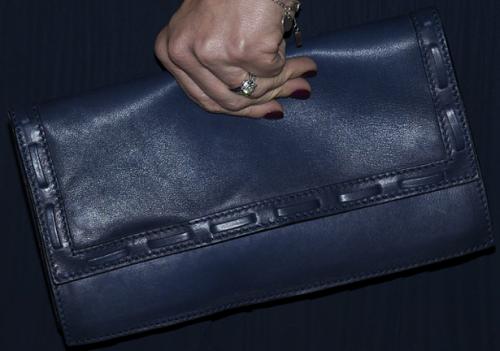 Marinblå kuvertväska Quidam
