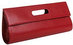Cleo and Patek red clutch