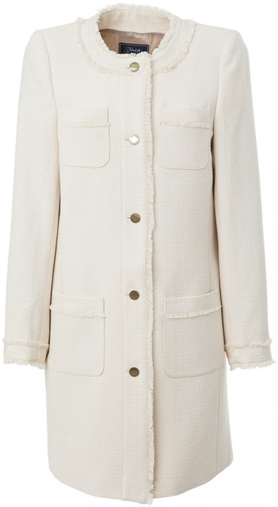'Lori' Long Jacket i Sandshell Lexington