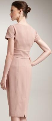 elie-saab-flesh-lace-yoke-fitted-dress bak