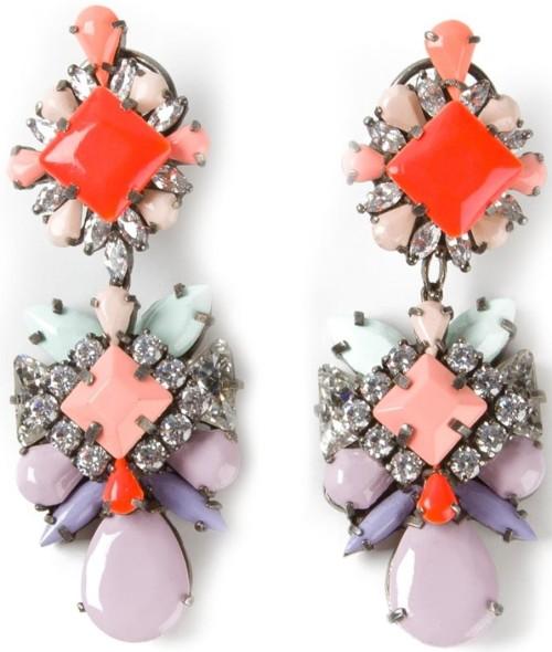 Embellished Earrings Shourouk