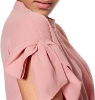 'Grace' Top i Dusty Pink Daisy Grace närbild (1)
