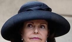 Svart hatt brette