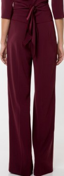 'Kamille' 3 Trousers Wine Red Andiata bak