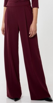 'Kamille' 3 Trousers Wine Red Andiata fram