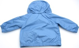 'Eustache' Junior Boy Windbreaker Jacket i Light Blue Moncler bak