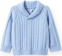 Infant Boys' Cable Pullover Sweater Jacadi fram