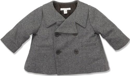 Mini Wool Peacoat i Grey Marie Chantal
