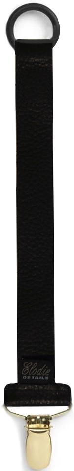 Napphållare svart läder Elodie Details